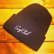 "【OAKLAND SURF CLUB】NEW WAVE BEANIE ""BLACK"""