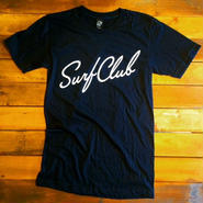 "【OAKLAND SURF CLUB】NEW WAVE TEE ""BLACK"""