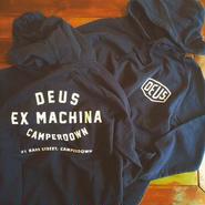 """【DEUS ex MACHINA】CAMPERDOWN HOODIE """"BLACK"""""""