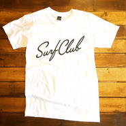 "【OAKLAND SURF CLUB】NEW WAVE TEE ""WHITE"""