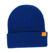 """【THE QUIET LIFE】WAFFLE BEANIE """"ROYAL"""""""
