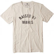 "【VISSLA】Quotes-Raised Tee ""BONE"""