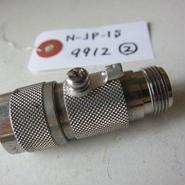 サンコーシヤ/SANKOSHA      N-JP-1S形      N型コネクタを使用する高周波同軸回線を雷サージから保護する同軸用SPD(避雷器)★(N-JP-1S  9912②)中古品・貴重品★