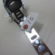 春日電子オリジナル  コスモウェーブ 5.6GHz 帯デュアルモード・ホーンアンテナをオフセットパラボラアンテナに取付する金具一式⑩★店頭展示・在庫品★
