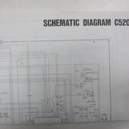 日本マランツ STANDARD C520の回路図・ブロックダイアグラム★中古品・レア★