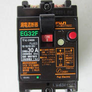 富士電機/FUJI   漏電遮断器 EG32F  OC付 2P 30A ★中古品★