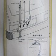 アンテン GB-BMK バンパー取付金具 ★未使用長期保存・貴重品★