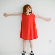 dear muu muu / POP CUT DRESS 120サイズ