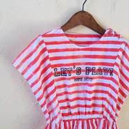 muu muu / MOSAIC SUMMER DRESS/ red