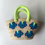 刺繍バスケット『flower』