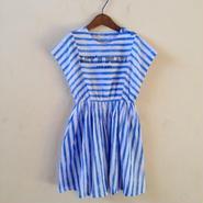 muu muu / MOSAIC SUMMER DRESS/ blue