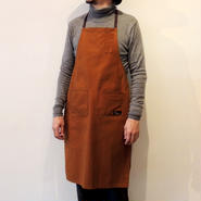 05 4POCKET CANVAS FULL APRON_BROWN