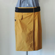 SUPPORTING APRON_MUSTARD