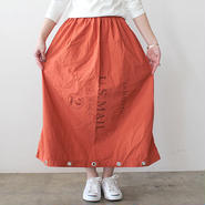 US MAIL BAG SKIRT_ORANGE