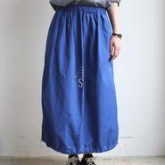 LAUNDRY BAG SKIRT_BLUE