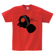 Tシャツ:GAS MASK