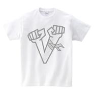 Tシャツ:Vサイン