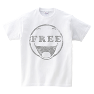Tシャツ:私。フリーです。
