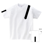 Tシャツ:矢印