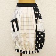 気球スカート ~モノトーン~