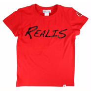 REALIS ロゴTシャツ / レッド