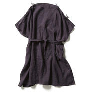 LINEN SACK DRESS 【WOMENS】