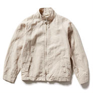 HIGH COUNT LINEN BARRACUDA JACKET