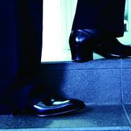 【5.5 cmの奇跡】  サイドジップブーツ ヒール5.5㎝ グッドイヤー・ウェルト製法