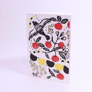 二つ折りカード Bird 封筒付き