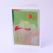二つ折りカード Three 封筒付き