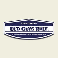 OG822 Local Legend Sticker
