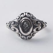 Stained Skull Ring