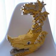 LEGO 金シャチ