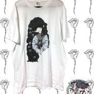 パンジーTシャツ(白)