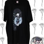 パンジーTシャツ(黒)