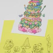 【PoPun.P】ケーキカード S48-272