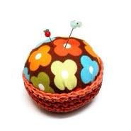 【gemma】まち針&針山セット とり&りんご