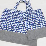 【ああ】絵本バッグ+シューズ入れ P17-1021