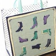 【o*ganic】ミニミニファッションバッグ(ブルー) A3-0493