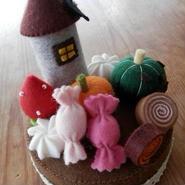 【KANADE】ハロウィンフェルトケーキ P29-398