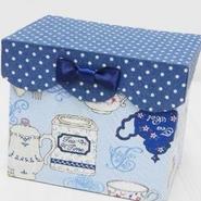 【o*ganic】ティーバッグBOX ブルー A3-0517