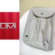 超美品USED TUMI  STE T3  バランス バック(リュック)パック アルミ シルバー 【TUMI  6481】 [TUMI  6481]