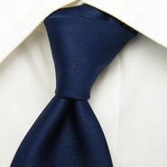 ビンテージ特集【N&T】ブルー系ストライプ&花柄ネクタイ【青系】【USED】0112