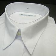 送料200円同梱OK【新品/半袖】三越(ユニチカ製造)フロント2ポケット 半袖ホワイト(白)Yシャツ【首回り42cm/A形(体)】|ワイシャツ|ワークシャツ