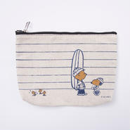 SNOOPY WINTER POUCH 日焼けスヌーピー冬ポーチ