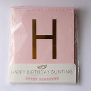【Ginger Ray(ジンジャーレイ)】HAPPY BIRTHDAYバナー