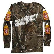 """Zombie """"Woodsman"""" camo ロングTシャツ"""