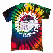 Milkcrate Custom Tie Dye Tee Shirt - Black