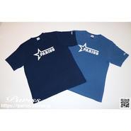 【新作】【数量限定】スターロゴTシャツ【ライトインディゴ・ダークインディゴ】