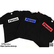 【人気】BoxロゴTシャツ【ブラック×ホワイト・ブルー・レッド】